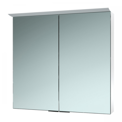 Saneux Glacier 750x700mm Wall Mounted Mirrored Cabinet-0