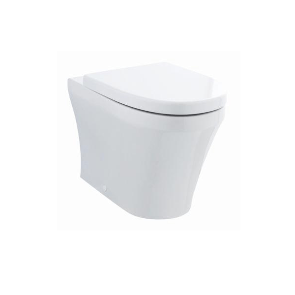 Hudson Reed Luna Back To Wall Pan and Soft Close Seat-0