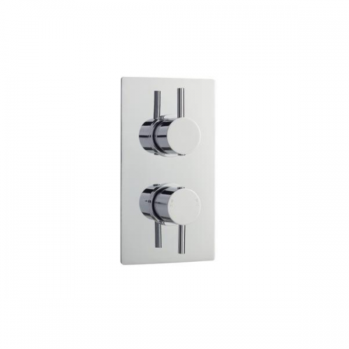 Premier Quest Twin Thermostatic Shower Valve With Diverter-0