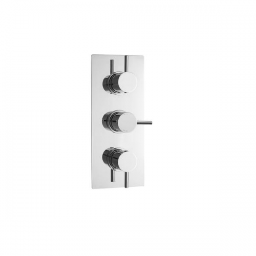 Premier Quest 3 Outlet 3 Handle Thermostatic Shower Valve-0