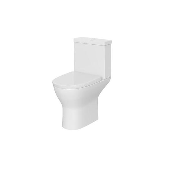 Premier Saffron Compact Semi Flush To Wall Pan and Cistern-0