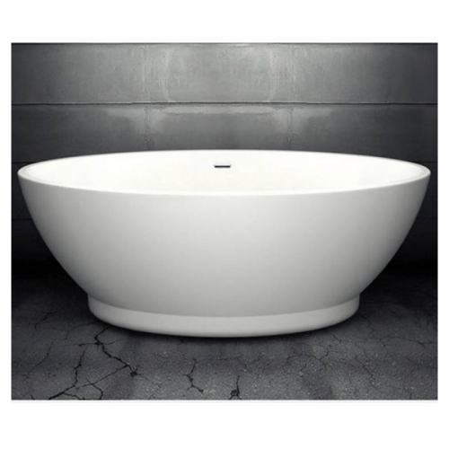 Charlotte Edwards Shard 1685mm Freestanding Bath-0