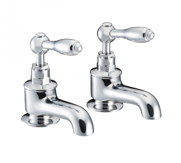 St James Collection English Lever Bath Taps