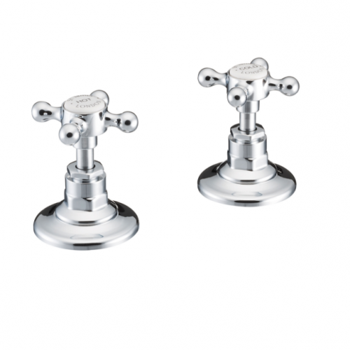 St James Collection London Handles Deck Mounted Bath Valves