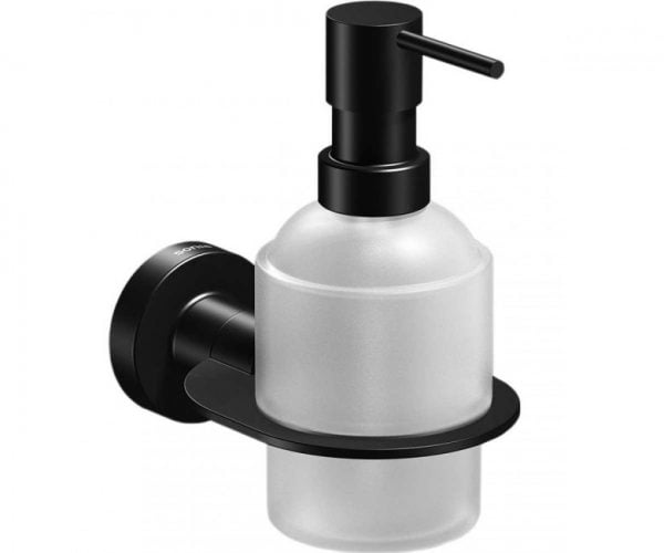 Sonia Tecno Project Black Wall Mounted Soap Dispenser