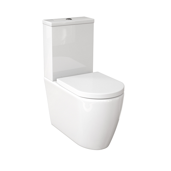 Saneux Uni Complete Close Coupled WC With Soft Close Seat-0