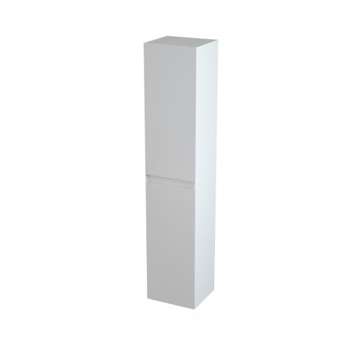 Saneux Uni Tall Boy 1700mm Gloss White Wall Storage Unit-0