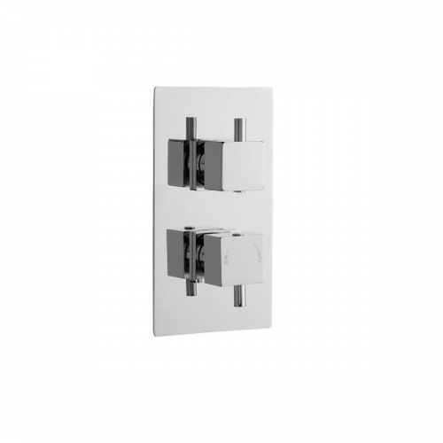 Premier Volt Thermostatic 2 Outlet Shower Valve With Diverter-0