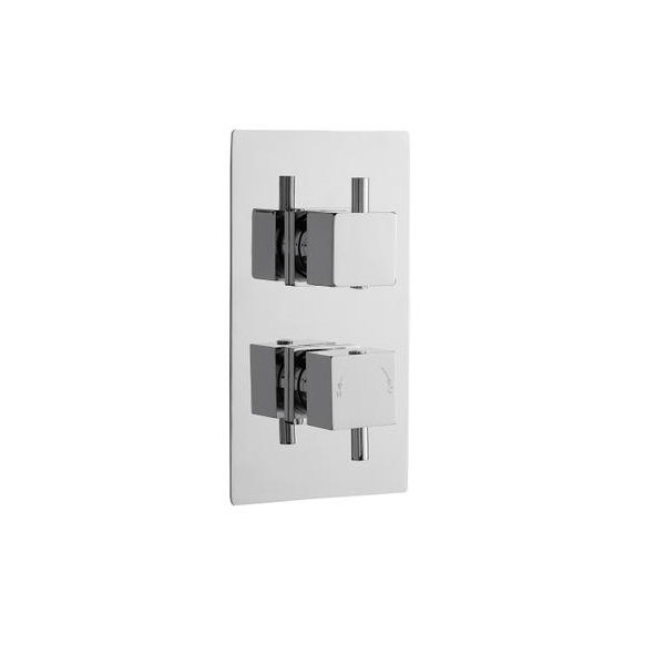 Premier Volt Thermostatic 2 Outlet 2 Handle Shower Valve-0