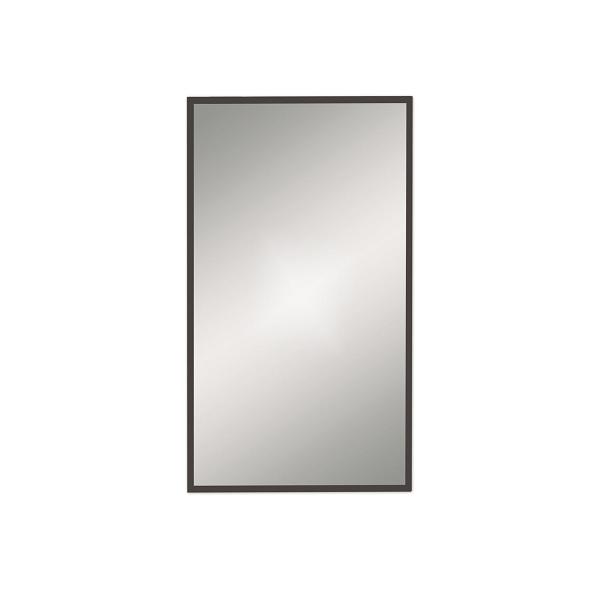 Bathroom Origins Docklands Black Frame 500mm Rectangular ...