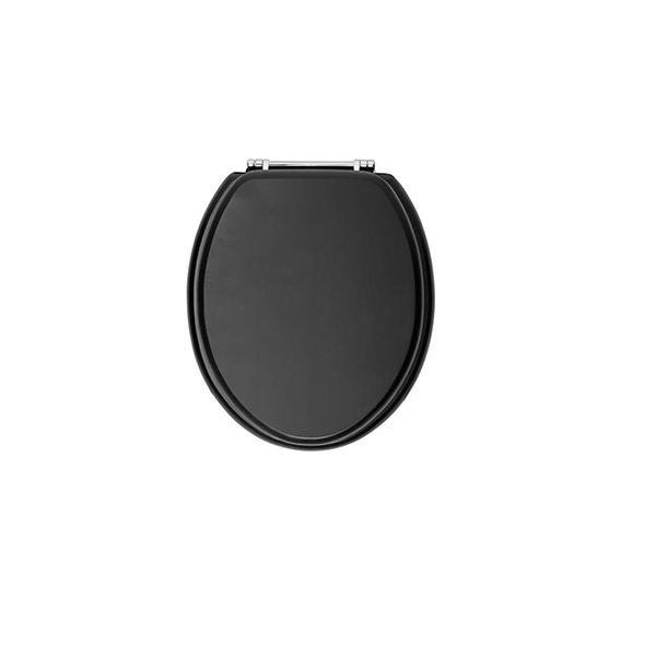Phenomenal Heritage Traditional Graphite Soft Closing Chrome Hinge Toilet Seat Theyellowbook Wood Chair Design Ideas Theyellowbookinfo