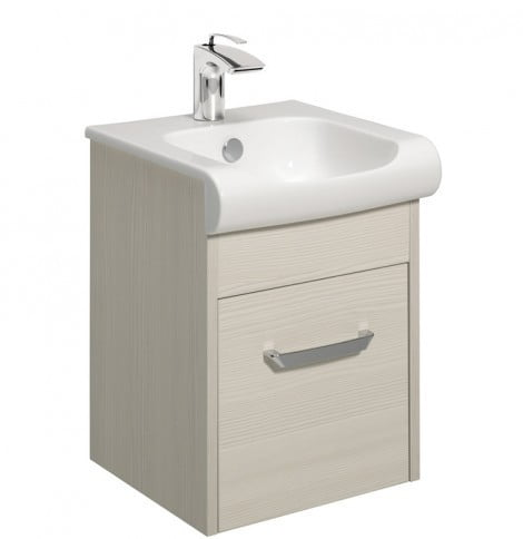 Crosswater Essence Drawer Vanity 40 Unit Glacier ES4000DGL