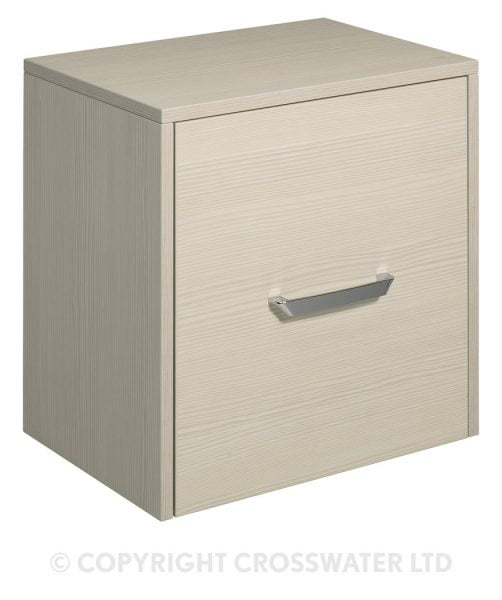 Crosswater Essence Door Storage Unit 500 Glacier ES5035FGL